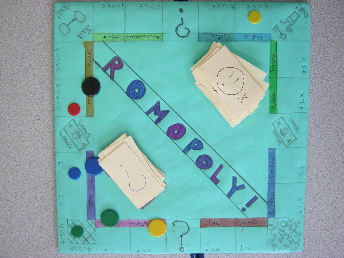 School map games to help learn