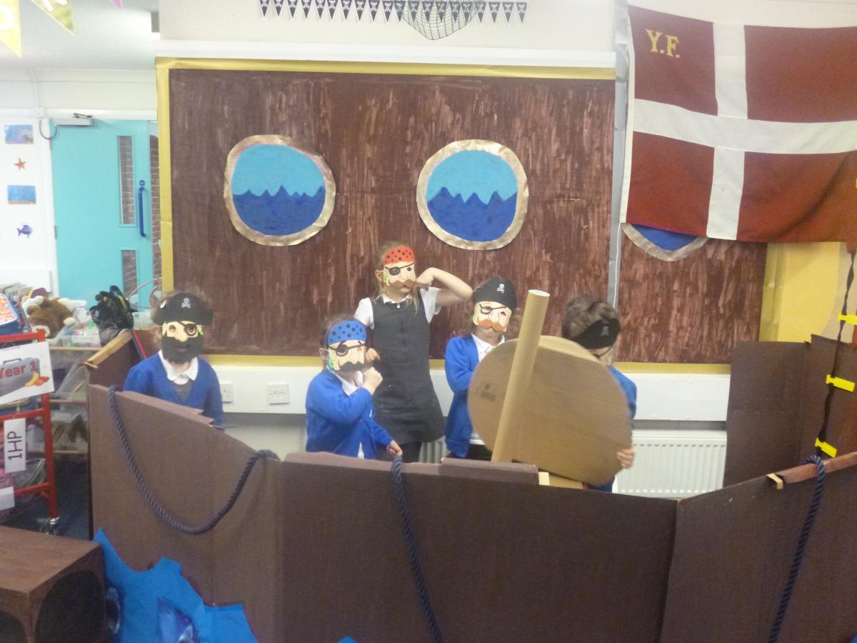 how to become a pirate play